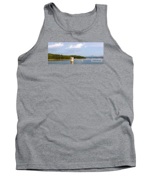 Blue Ridge Dam Tank Top by Michael Waters