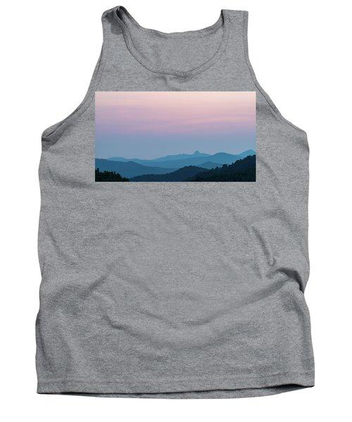 Blue Ridge Mountains After Sunset Tank Top