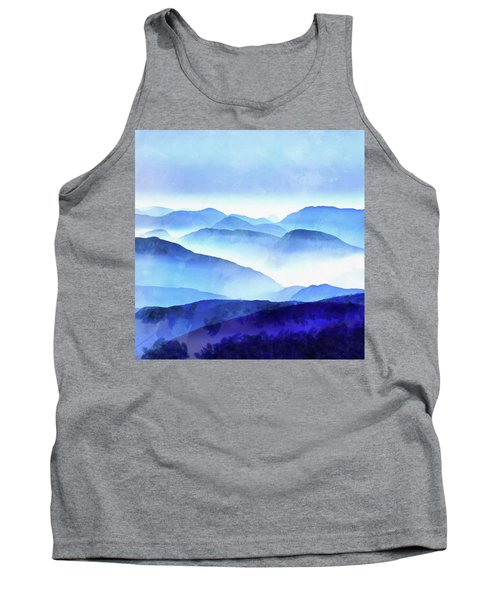 Blue Ridge Mountains Tank Top