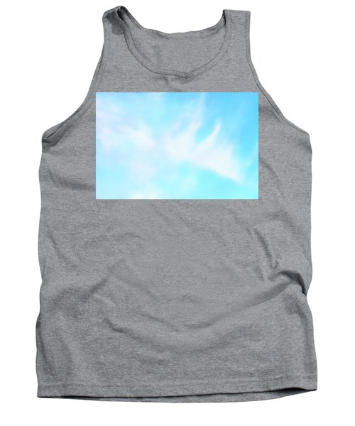 Blue Sky Tank Top by Anton Kalinichev