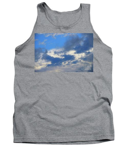 Blue Two Tank Top