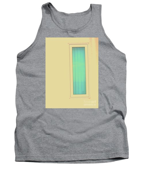 Tank Top featuring the photograph Blue  by Vanessa Palomino