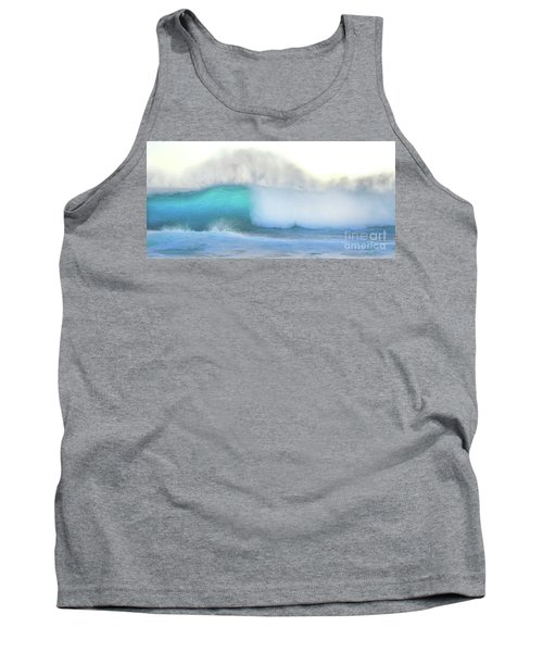 Tank Top featuring the photograph Blue Wave by Kristine Merc