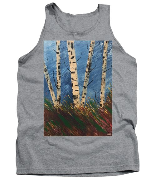 Blue Wind Blew Tank Top