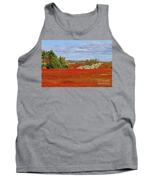 Blueberry Field Tank Top