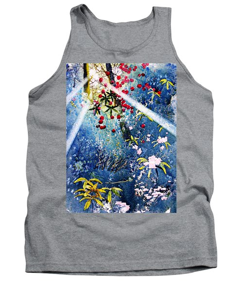 Blues And Berries Tank Top
