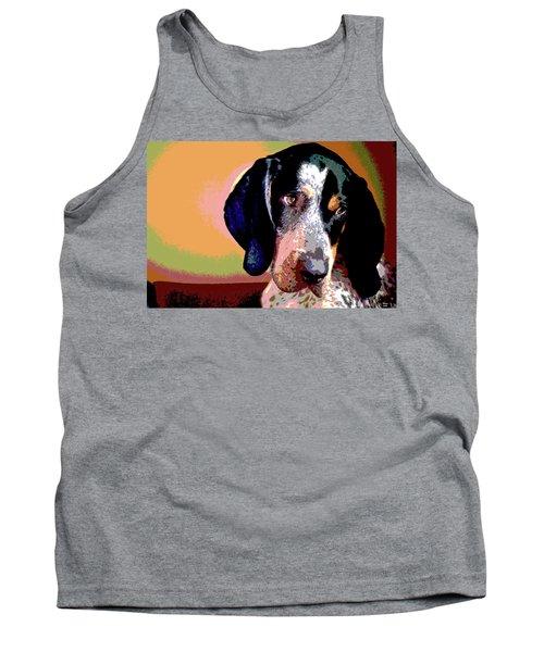 Bluetick Coonhound Tank Top
