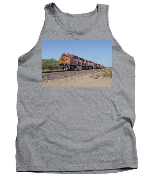 Tank Top featuring the photograph Bnsf7890 by Jim Thompson