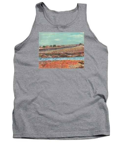 Boardwalk At Sandwich Ma Tank Top