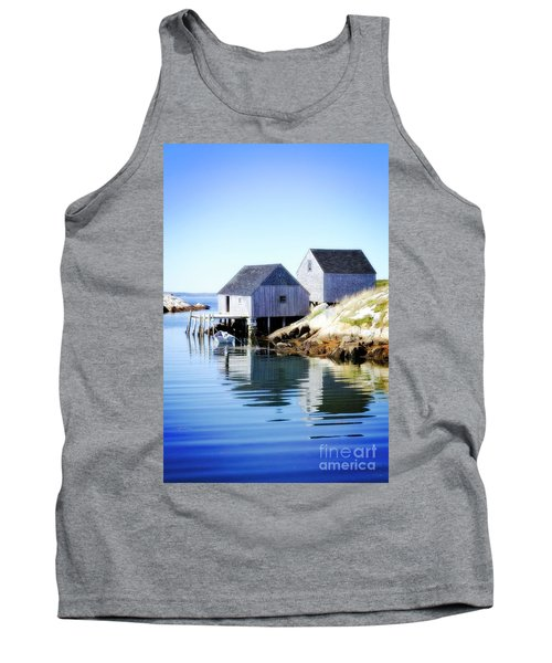Boat Houses Tank Top