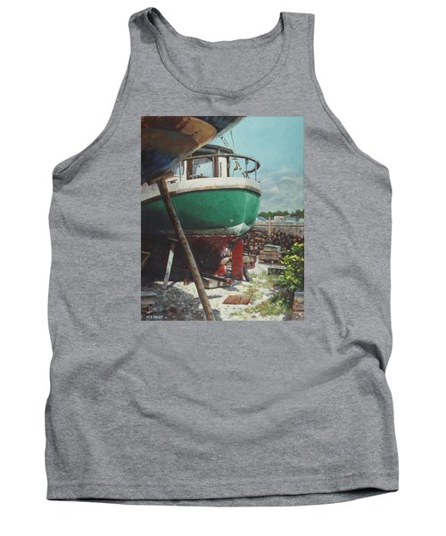 Boat Yard Boat 01 Tank Top