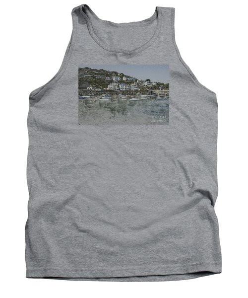 Tank Top featuring the photograph Boats At Looe by Brian Roscorla