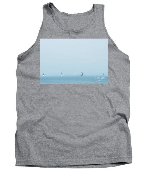 Boats On The Irish Sea Tank Top