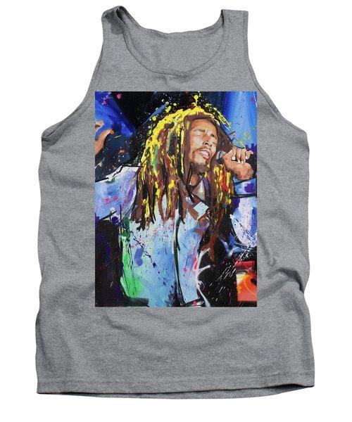 Bob Marley Tank Top by Richard Day