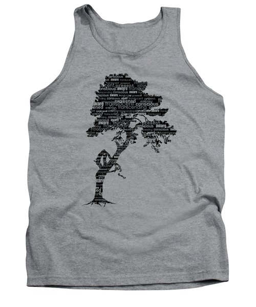 Tank Top featuring the digital art Bodhi Tree Of Awareness by Tammy Wetzel