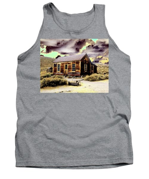 Tank Top featuring the photograph Bodie House by Jim and Emily Bush