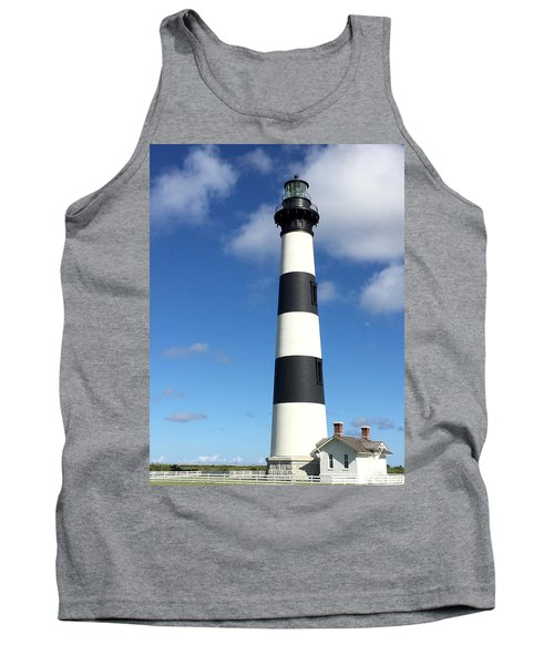 Bodie Island Lighthouse Cape Hatteras Tank Top by Dorothy Maier