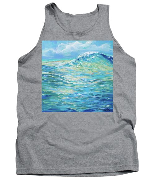 Bodysurfing Rolling Wave Tank Top