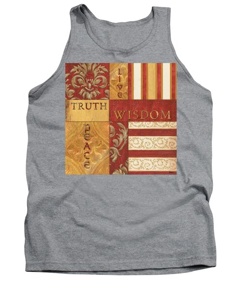 Bohemian Red Spice 2 Tank Top