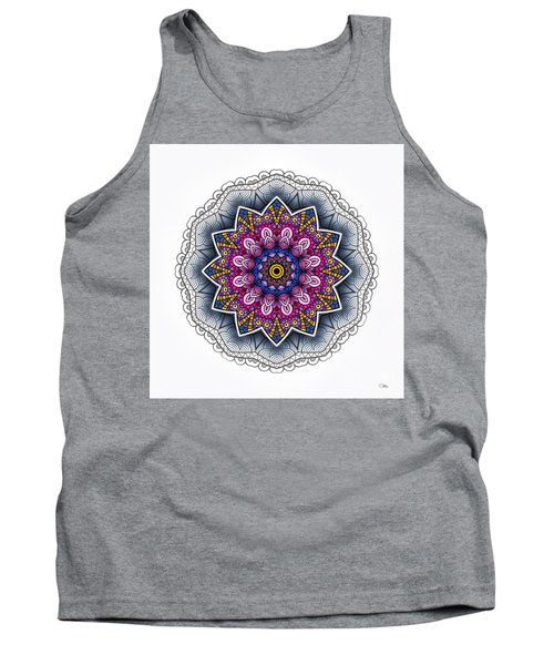 Tank Top featuring the digital art Boho Star by Mo T