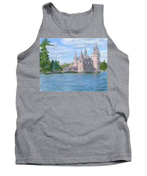 Tank Top featuring the painting Boldt's Power House by Lynne Reichhart
