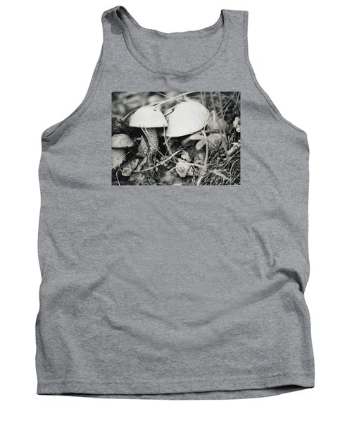 Boletus Mushrooms Tank Top