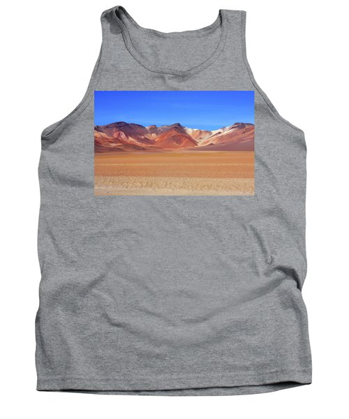 Tank Top featuring the photograph Bolivian Altiplano  by Aidan Moran