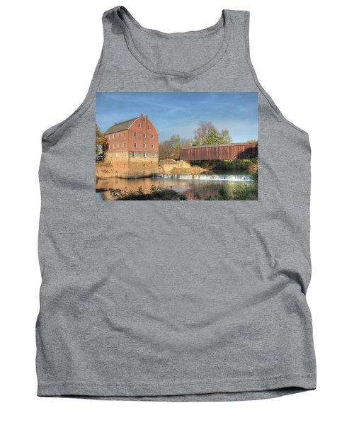 Bollinger Mill And Burfordville Covered Bridge Tank Top