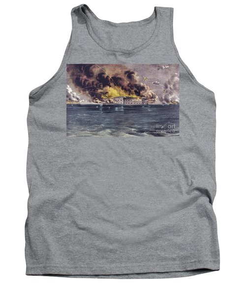 Bombardment Of Fort Sumter, Charleston Harbor, Signaled The Start Of The American Civil War Tank Top
