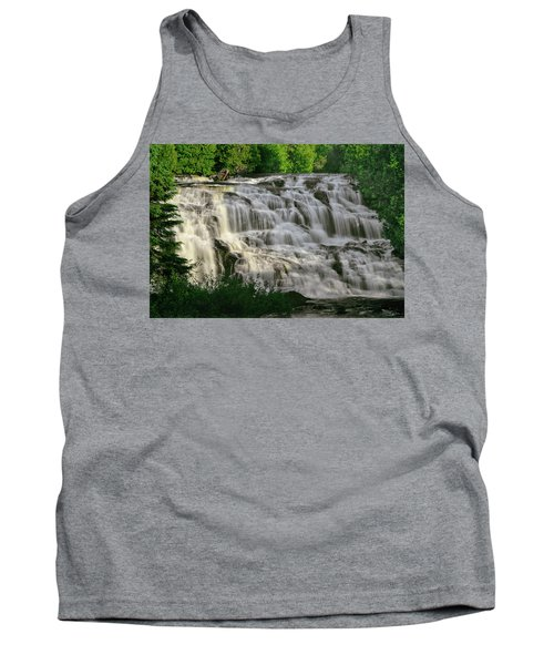 Tank Top featuring the photograph Bond Falls - Haight - Michigan 001 by George Bostian
