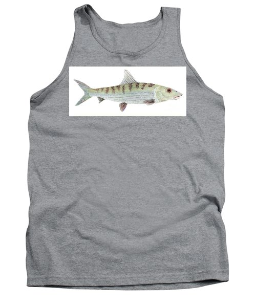 Bonefish Tank Top