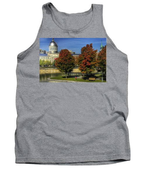 Bonsecours Market Tank Top by Nicola Nobile