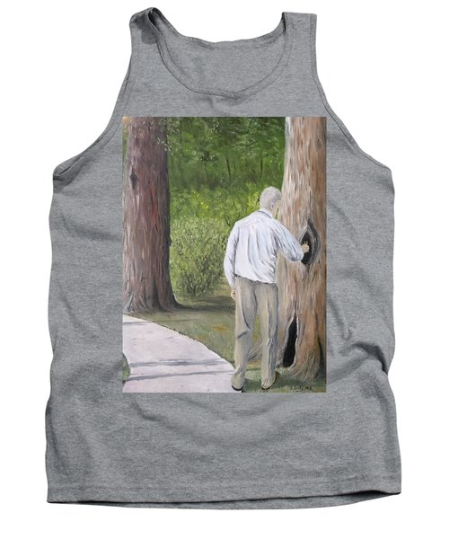 Tank Top featuring the painting Boo by Kevin Daly
