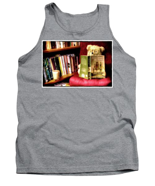 Bookworm Ted Tank Top
