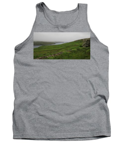 Borrowston Morning Clouds Tank Top