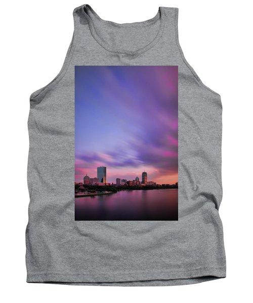 Boston Afterglow Tank Top by Rick Berk