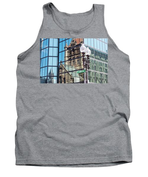 Boston At Different Angle Tank Top