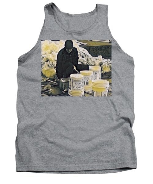 Boston Bucket Man Tank Top