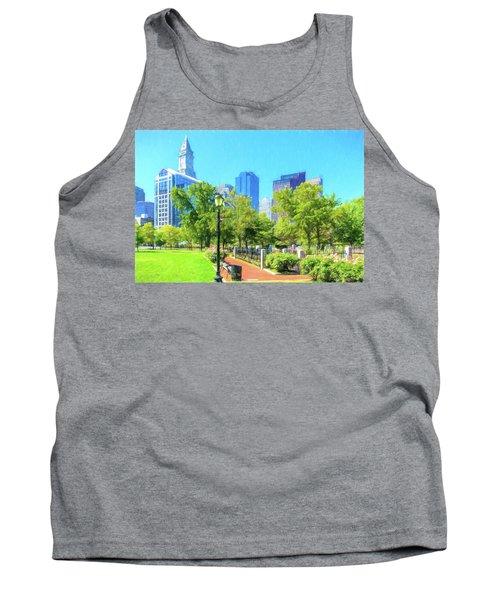 Boston Skyline From Columbus Park Tank Top