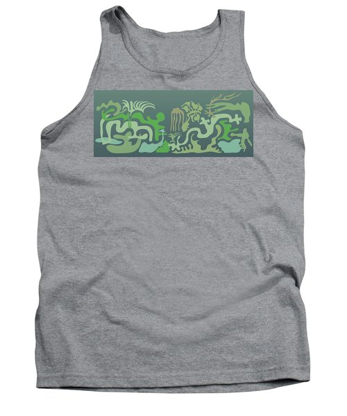 Botaniscribble Tank Top