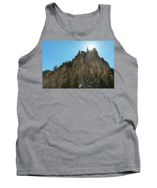 Tank Top featuring the photograph Boulder Canyon Narrows Pinnacle by James BO Insogna