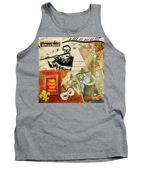 Bourbon Street Collage Tank Top