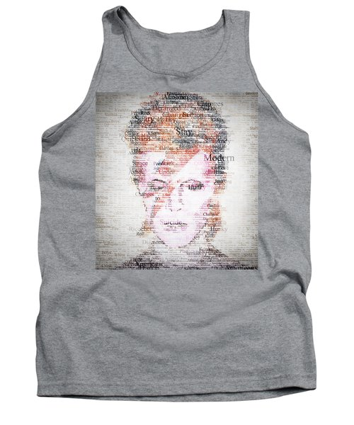 Bowie Typo Tank Top