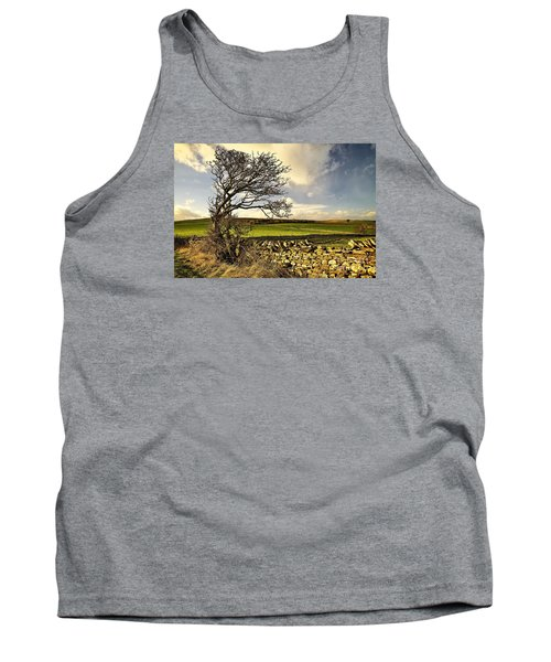 Bowing To The Wind Tank Top