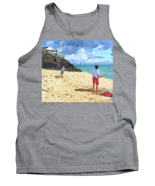 Bowling And Batting, Abersoch Tank Top