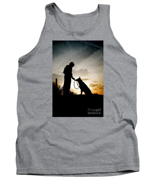Boy And His Dog Tank Top