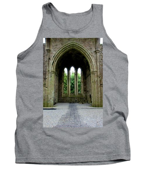 Tank Top featuring the photograph Boyle Abbey In Ireland 2 by Michelle Joseph-Long