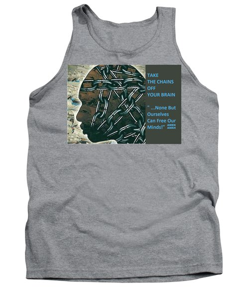Brain Chains Tank Top