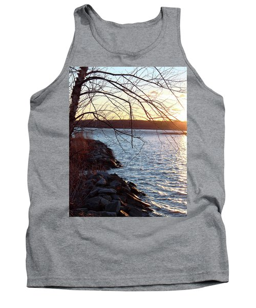 Late-summer Riverbank Tank Top