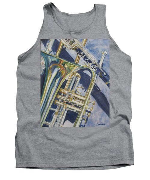 Brass Winds And Shadow Tank Top